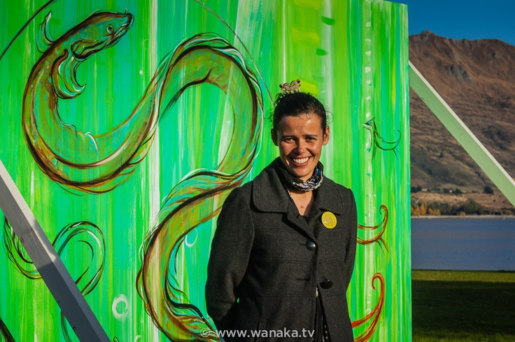 'Priscilla Cowie' presents her work at the 2013 Festival of Colour, Wanaka, New Zealand