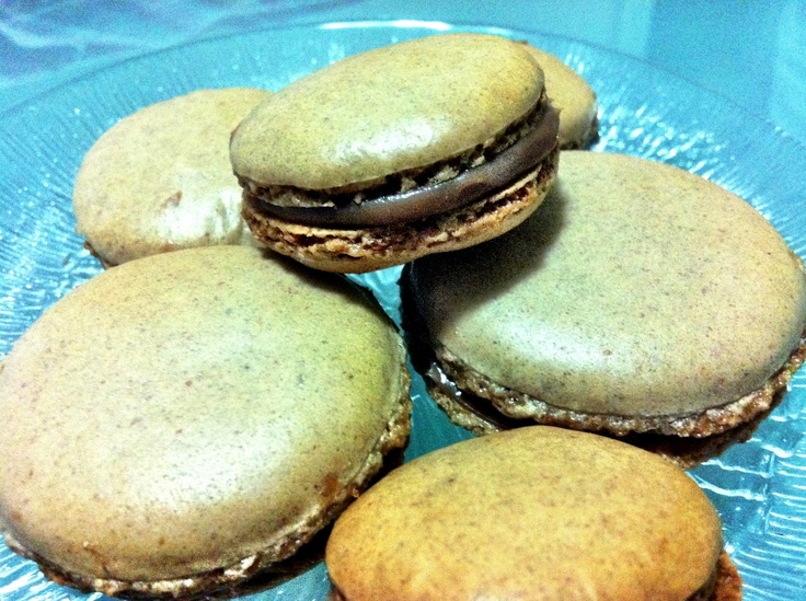 Chocolate macarons, by @Victoria Falcon Giordano & @Pablo Andrés Gerbasi Sucre