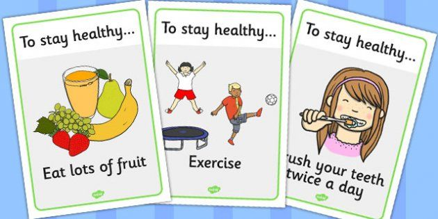 Health and Hygiene Display Posters - Good health, hygiene ...