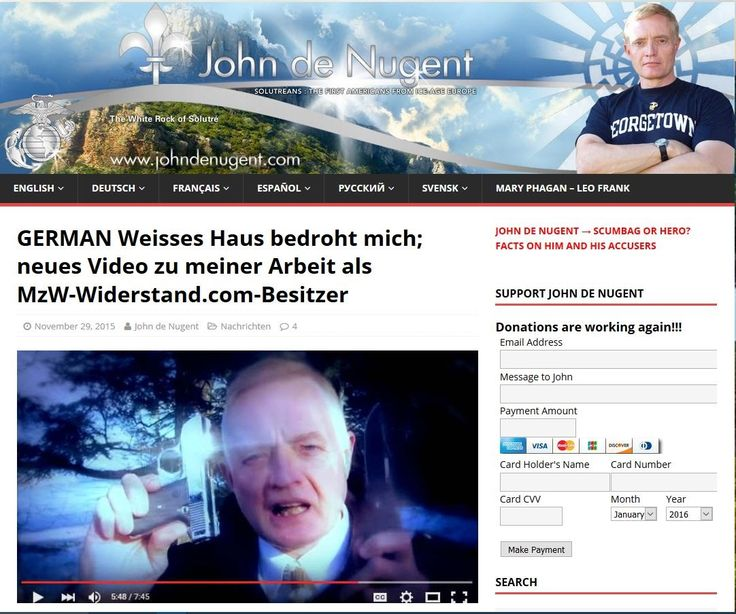 WER & WAS ist Mut zur Wahrheit MZW ? John de Nugent aufgedeckt!