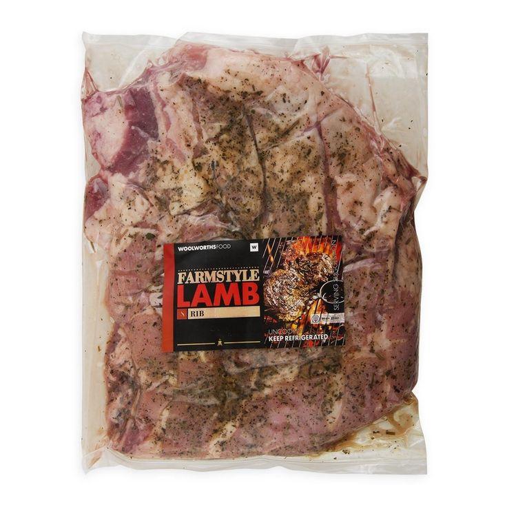 Farmstyle Lamb Rib Avg 1.2Kg