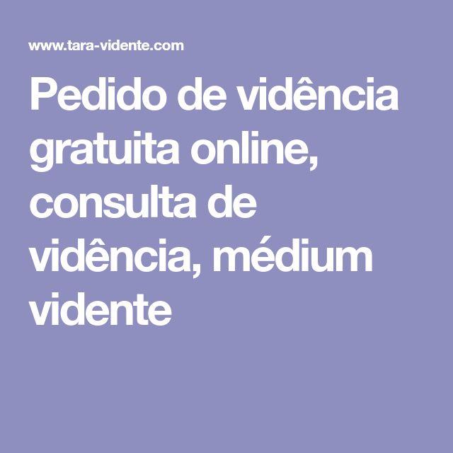 Pedido de vidência gratuita online, consulta de vidência, médium vidente