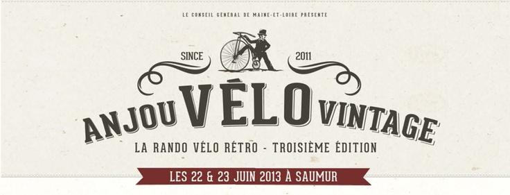 Anjou Vélo Vintage 2013 // Avis aux mordus de vélos et aux amateurs de mode rétro, l'Anjou Vélo Vintage est de retour pour une troisième édition exceptionnelle les samedi 22 et dimanche 23 juin 2013 à Angers et à Saumur. Comme l'année dernière, le programme sera : soirée vintage, concours d'élégance façon Mad Men pour défiler et d'autres surprises.