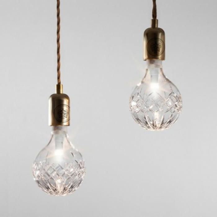 High/Low: Cut-Crystal Light Bulbs
