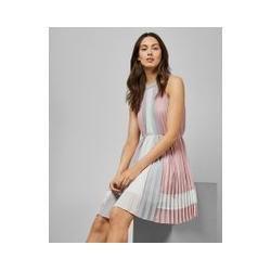 Kontrastierendes Kleid Mit Falten Ted Baker