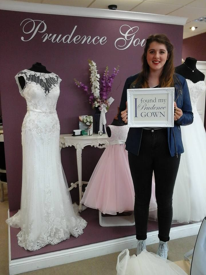 Jasmin Liegh found her #promdress for her #prom in our #Plymouth store today. YAY! #DressingYourDreams #PrudenceGowns