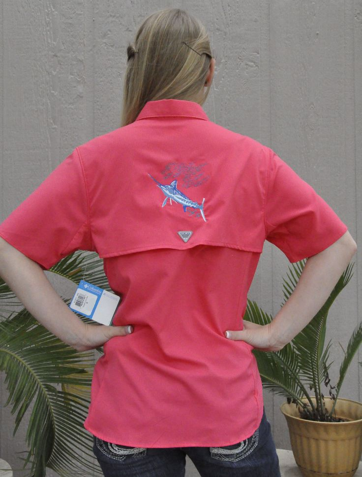 1000 images about my style on pinterest for Embroidered columbia fishing shirts
