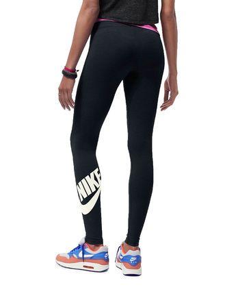 NIKE Leg-A-See Signal black Hosen für Frauen im Streetwear Online Shop burner.de kaufen