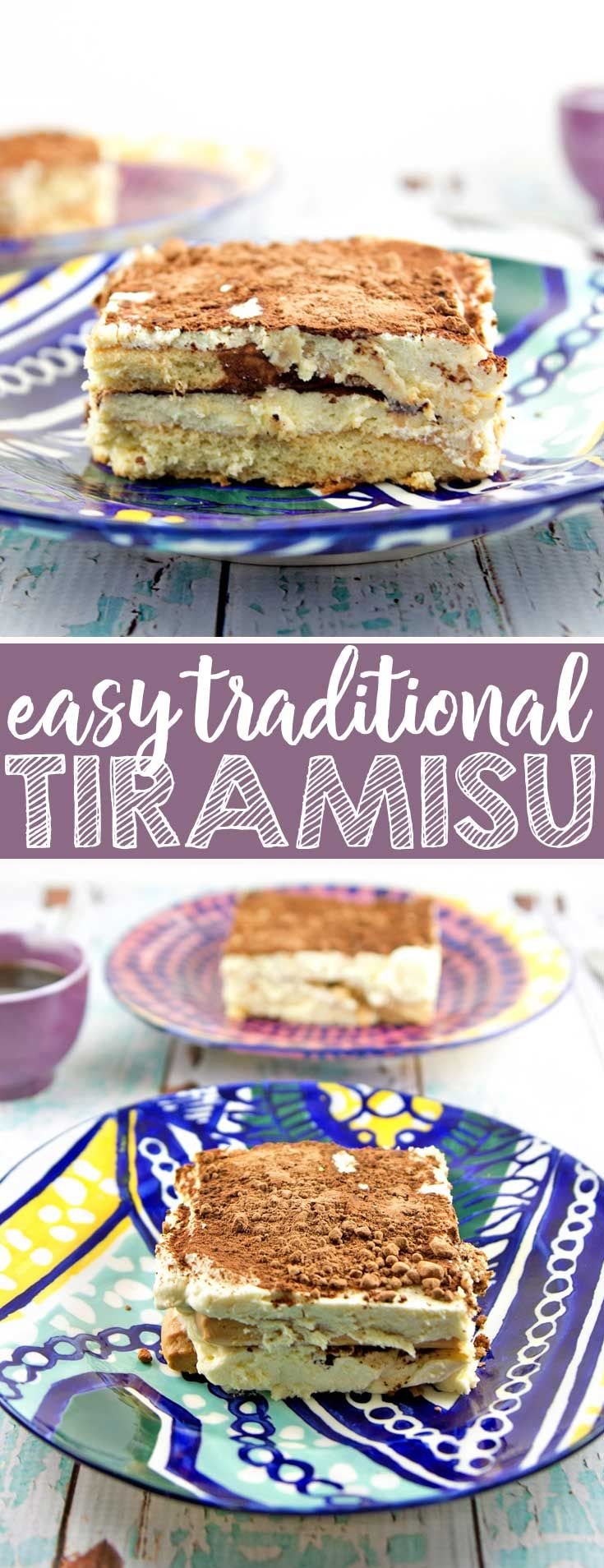 Easy Traditional Tiramisu: Whip up a delicious bat…