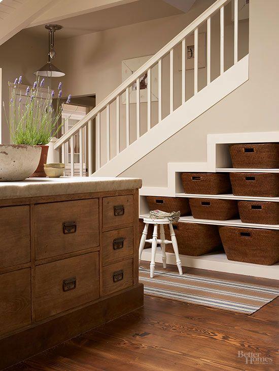 34 best Under Stairs Storage images on Pinterest Stairs - under stairs kitchen storage