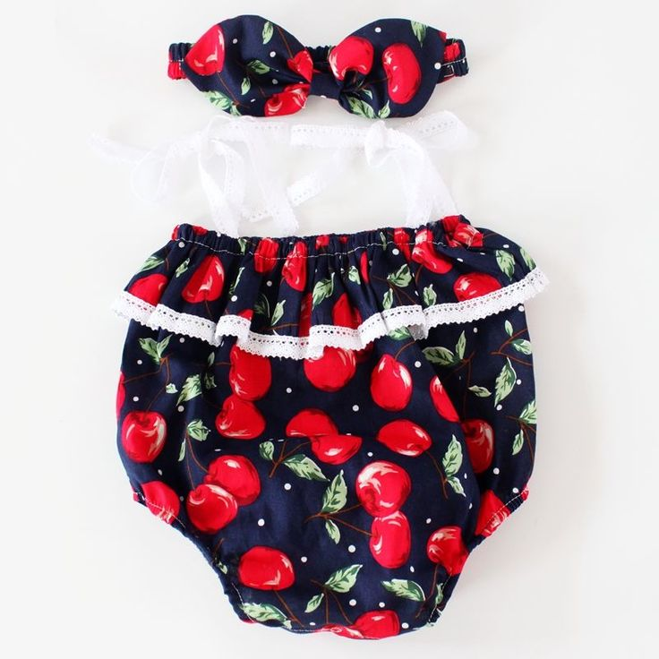 Image of Cherry Pie Romper