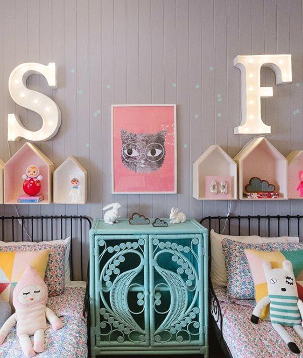 Красивые детские комнаты в пастельных тонах и в винтажном стиле от Белинды