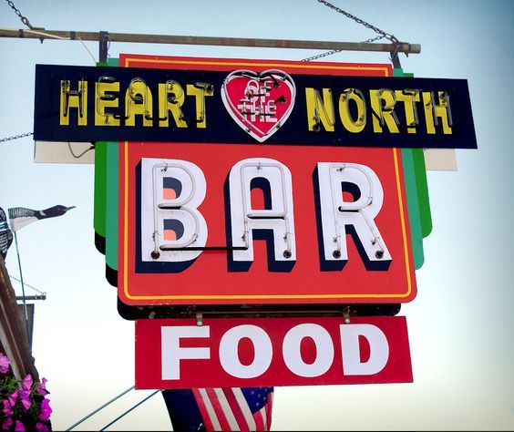 Heart Of The North Bar Mercer, Wisconsin