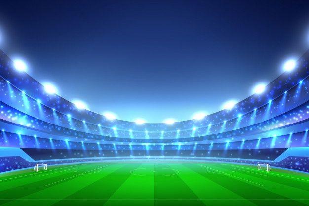 Soccer Stadium Free Vector Freepik Freevector Light Sport Sky Football In 2020 Soccer Stadium Soccer Stadium