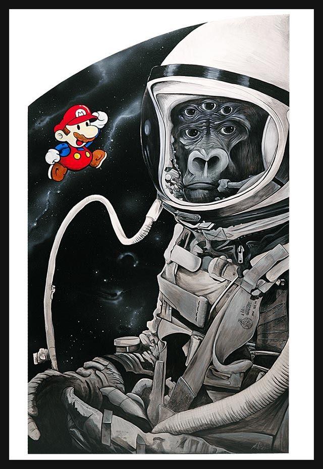 Animal Landing - A Whimsical Series of Artworks by Mr. Klevra