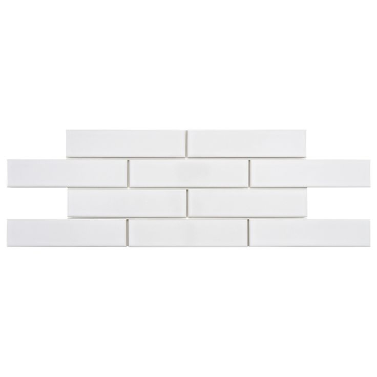 SomerTile Victorian Soho Subway White Porcelain Tiles (Case of 100)   Overstock.com Shopping - Big Discounts on Somertile Wall Tiles