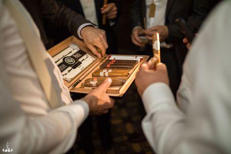Hochzeitsfeier Zigarren Party Hochzeitsparty Hochzeitsfotografie