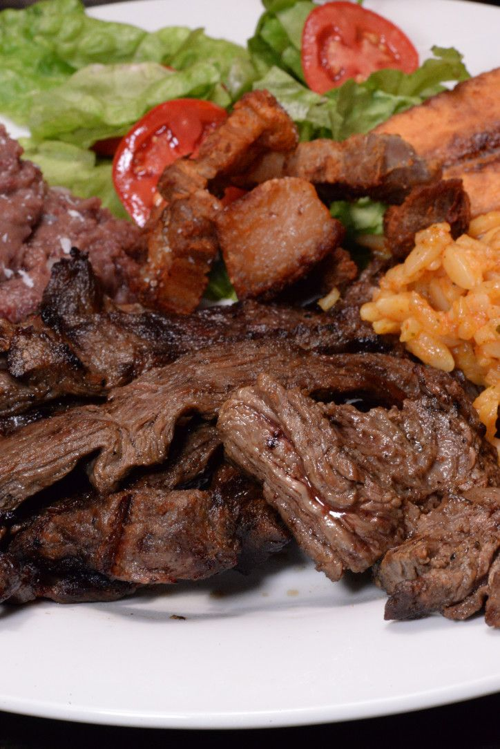 Honduran Carne Asada is a marinated flank or skirt steak and grilled on the BBQ, a favorite past time of Honduran families. This marinade has beautiful citrus notes. It calls for bitter orange and if you can not find them fresh, (they are not easy to find here in the US) then you can do one ...
