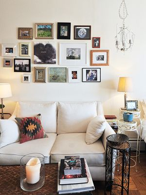 Tiny-Space Tips! Take Notes On This Cute D.C. Apartment #refinery29