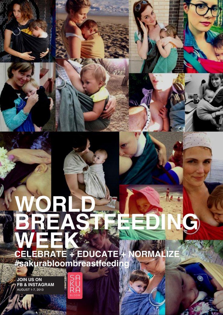 World Breastfeeding Week!