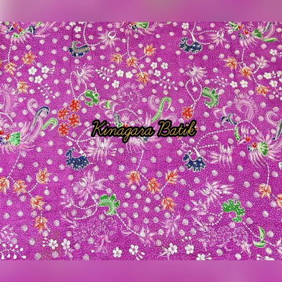 Check out this item in my Etsy shop https://www.etsy.com/listing/486724202/hand-written-2-yards-magenta-indonesia