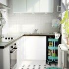 cocina pequea blanca ikea