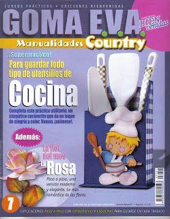 REVISTAS DE MANUALIDADES GRATIS: Revista Foamy goma eva