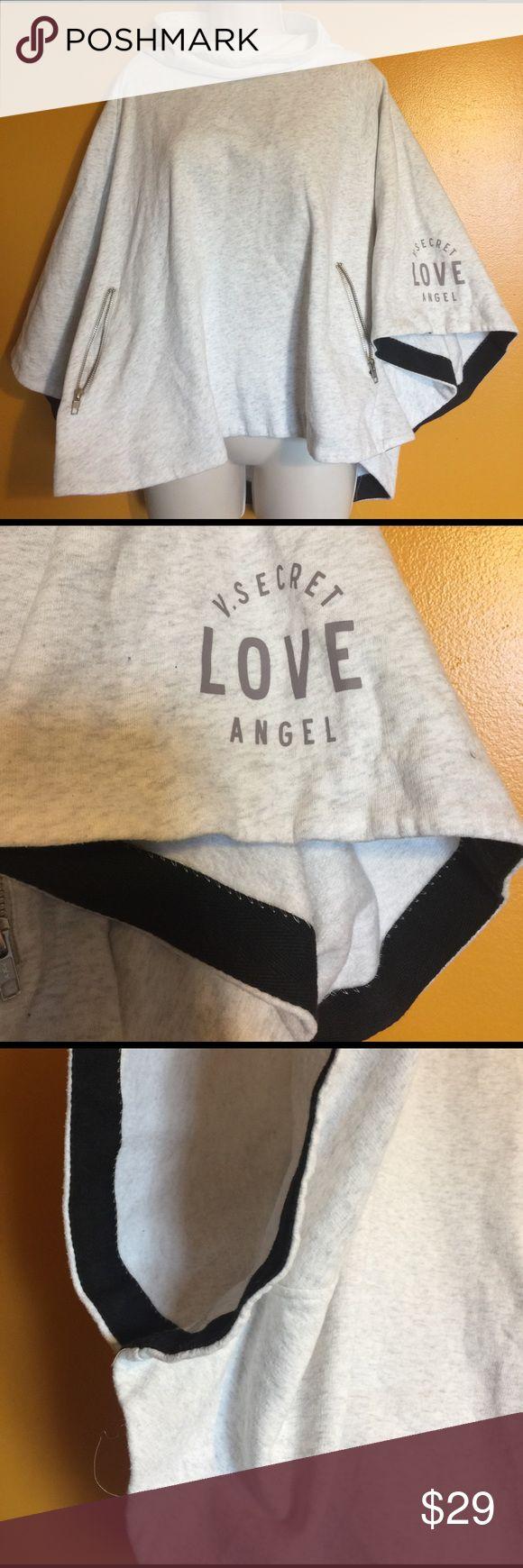 So Adorbs! Victorias secret poncho! Like new! Victoria's Secret Jackets & Coats Capes