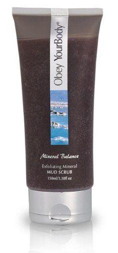 Obey Your Body Dead Sea Exfoliating Facial Mud Scrub Face Wash - Adsbeauty - http://best-anti-aging-products.co.uk/product/obey-your-body-dead-sea-exfoliating-facial-mud-scrub-face-wash-adsbeauty/