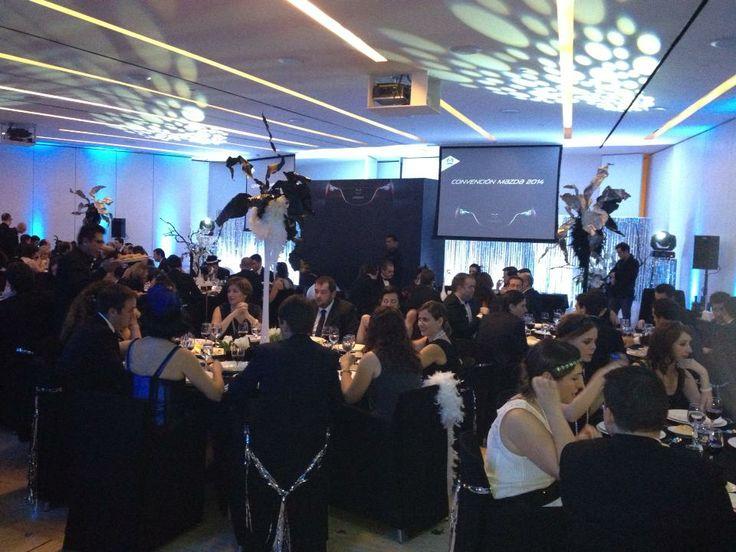 Divertida fiesta años 20 para la convención 2014 de Mazda. #Eventos #Mazda #Convencción #Aurigacoolmk #Eventos #Marketing @Auriga Cool Mkt. Facebook: AurigaCoolMarketing
