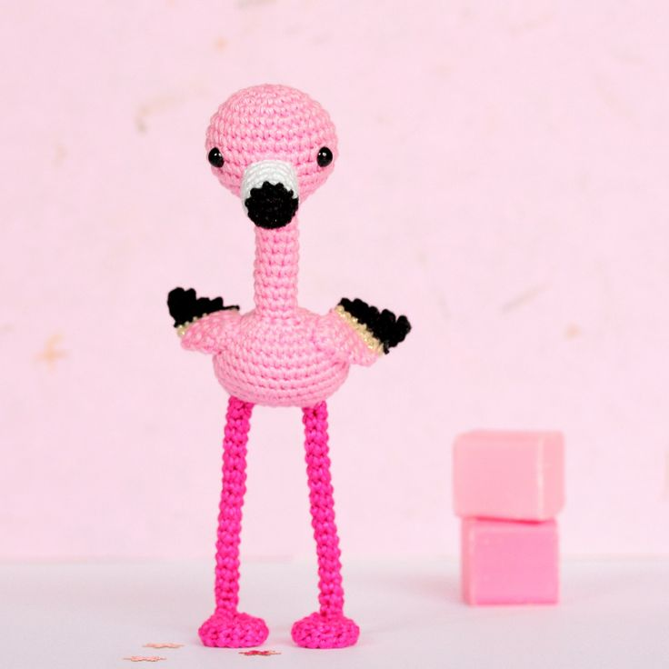 Pink flamingo home decor, Crochet flamingo decor, Flamingo decorations, Flamingo figurine, Flamingo gift, Tropical decor, Girls room decor by SoCroch on Etsy https://www.etsy.com/listing/275501830/pink-flamingo-home-decor-crochet