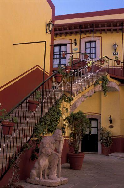 Hotel Meson de Jobito, Zacatecas, Estado de Zacatecas, Mexico