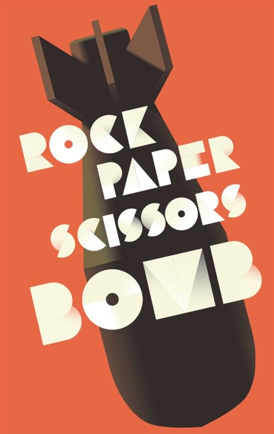 Rock Paper Scissors by Mads Berg