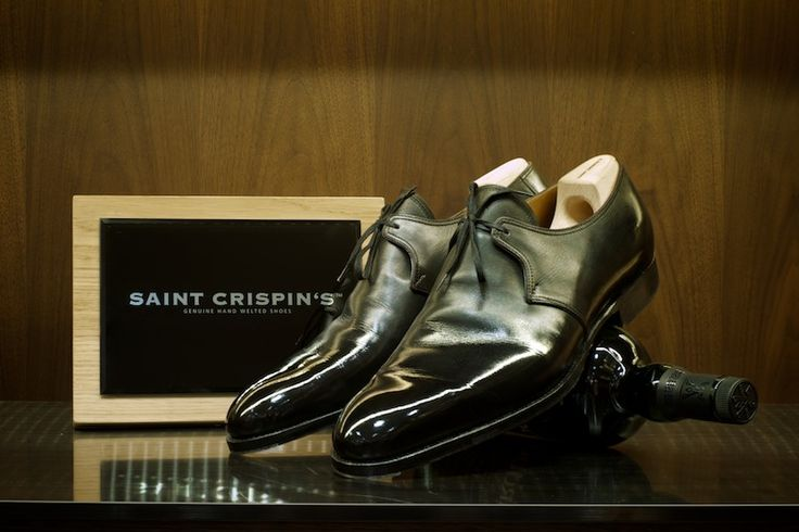 Well Polished Saint Crispin's 1 Eyelet Derby - The Armoury.
