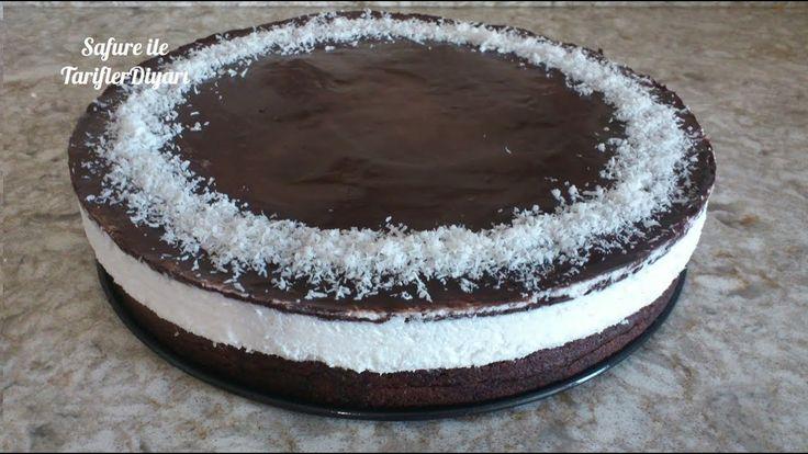 Hindistan Cevizli Pasta Tarifi - Cocostar Pasta - Çikolatalı Kokostar Pa...