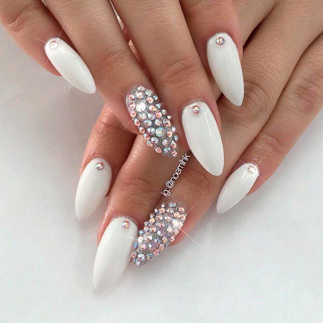 21 Trendy White Acrylic Nails Designs - Best 25+ White Acrylic Nails Ideas On Pinterest Coffin Acrylic