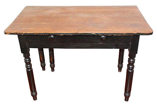 farm tables for sale   1870s Pennsylvania Farm Table - For Sale