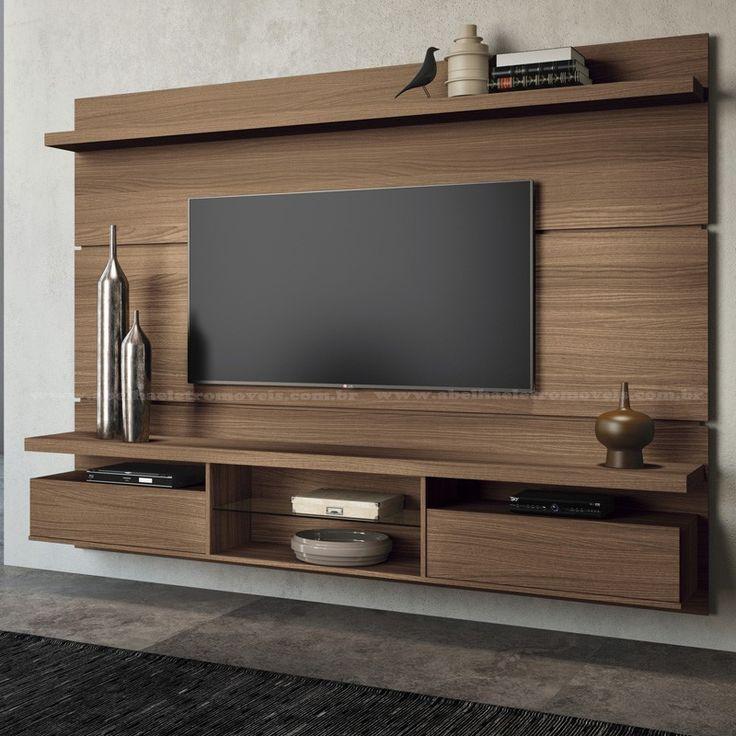 Home Suspenso Para Sala De Tv ~  Suspenso no Pinterest  Rack suspenso sem painel, Racks tv e Salas