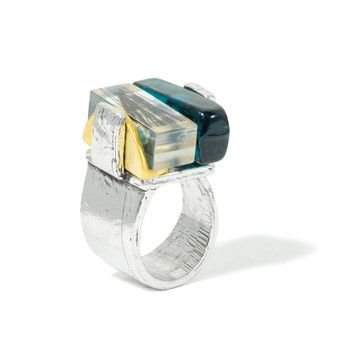 Anne-Marie Chagnon: Adjustable Sketch & Glass Ring