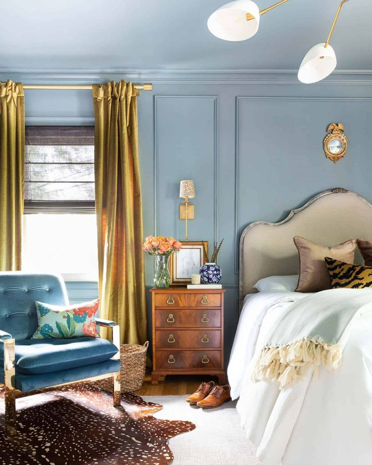 One Room Challenge The Reveal A Modern Traditional Master Bedroom In 2020 Bedroom Makeover Before And After Bedroom Makeover Master Bedroom Makeover