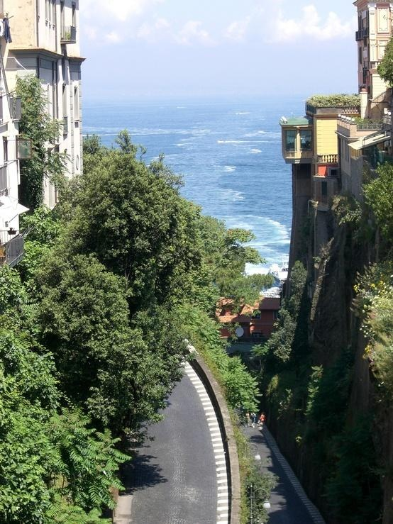 Sorrento  Have been on this street. Love it