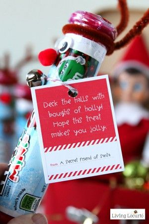 Random Acts of Kindness Elf Arrival Letter and gift ideas for your Elf on the Shelf. Encourages kids to give back and be Secret Santa.