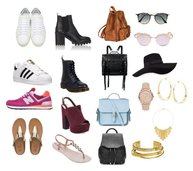 """""""2"""" by maria-camila-fernandez-mejia on Polyvore featuring moda, Yves Saint Laurent, adidas, Barneys New York, Dr. Martens, New Balance, Jessica Simpson, FitFlop, IPANEMA y McQ by Alexander McQueen"""