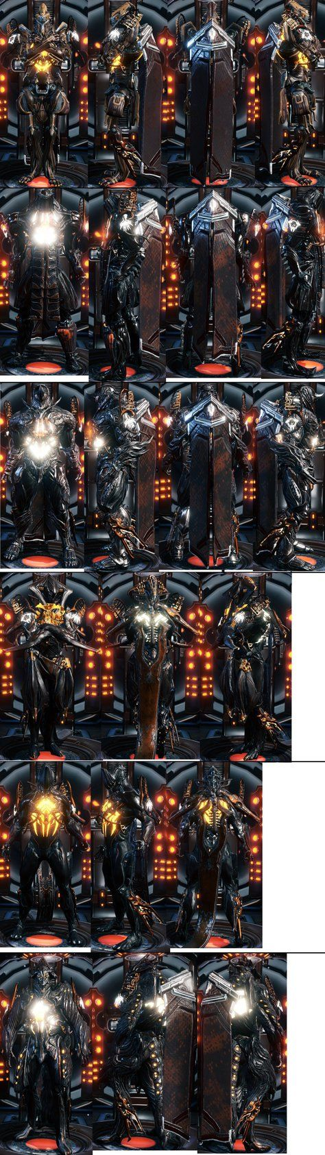 Kol Warframes: All of them, well, except one. by Koldraxon