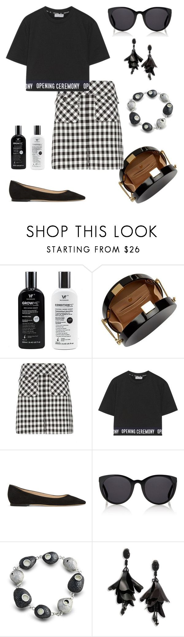 """""""Open!"""" by gatocat ❤ liked on Polyvore featuring Elie Saab, Dorothy Perkins, Opening Ceremony, Jimmy Choo, Finlay & Co. and Oscar de la Renta"""