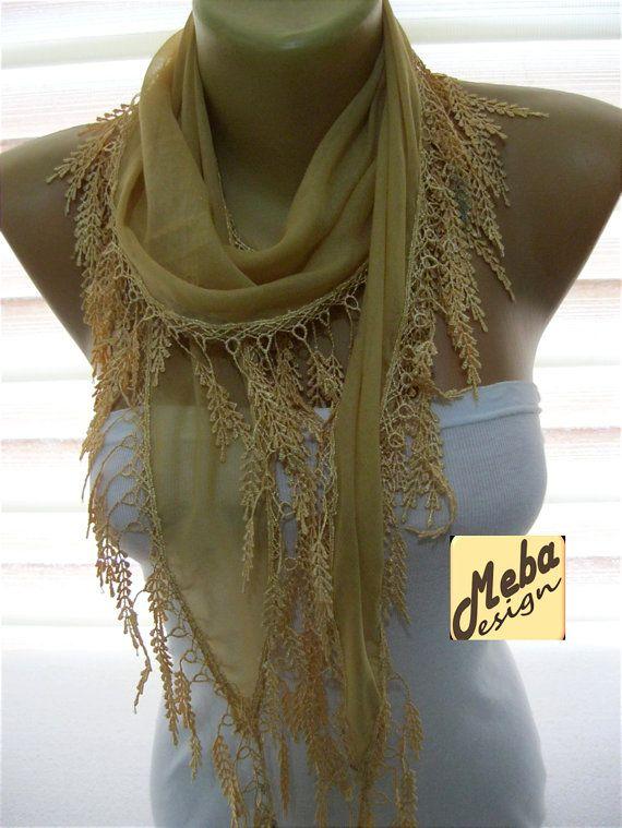 SALE  990 USD-Beige scarf women scarves   fashion by MebaDesign