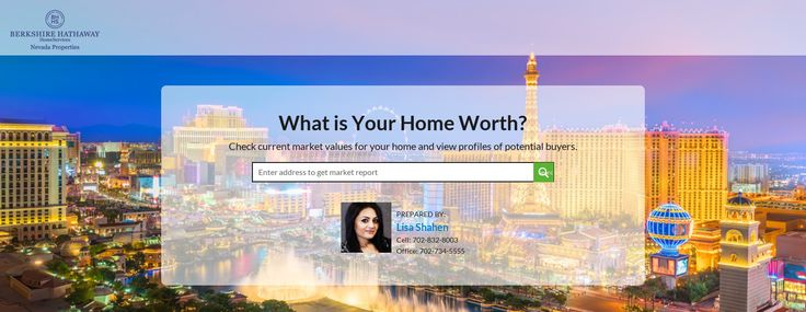 Home Value Estimator by Lisa Shahen