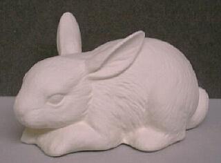 Lots Of Paintable Ceramic Bunnies!