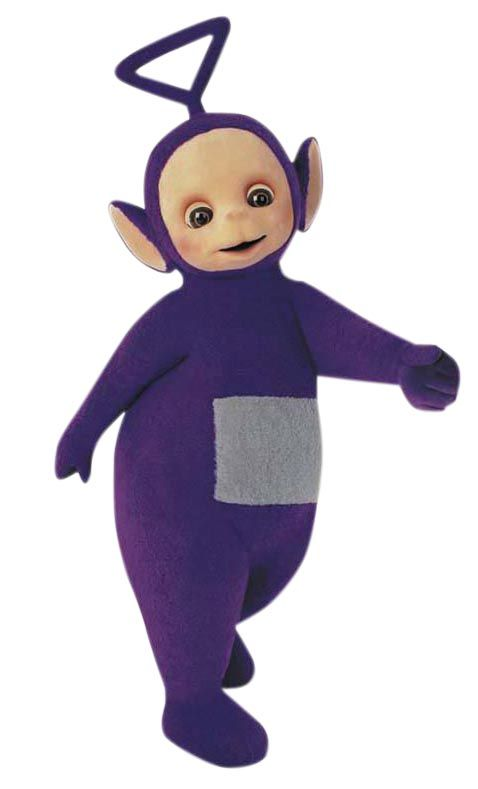 Purple Telly Tubby 'Tinky-Winky' | Telly Tubbies. Lol ...