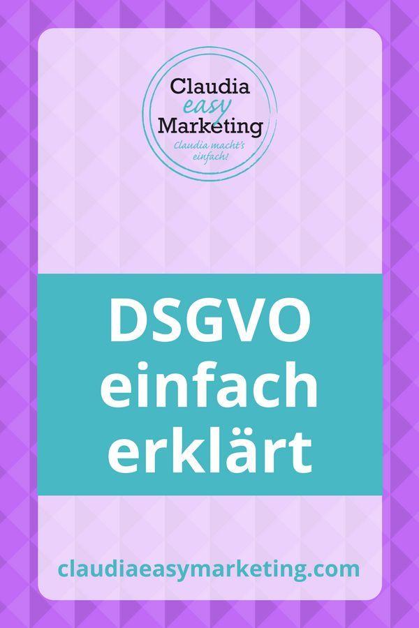 Dsgvo Einfach Erklart 9 Schritte Anleitung Dsgvo Marketing Lernen